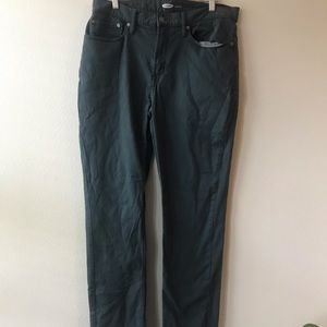 Men's fleeced line kaki pant
